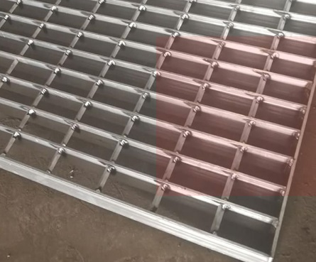 铝钢格栅板